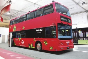 World's first long-range all-electric BYD Double-Decker buses introduced in London